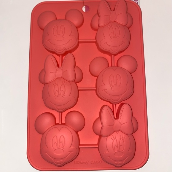 New Mickey & Minnie Mouse Cake and Chocolate Mold!